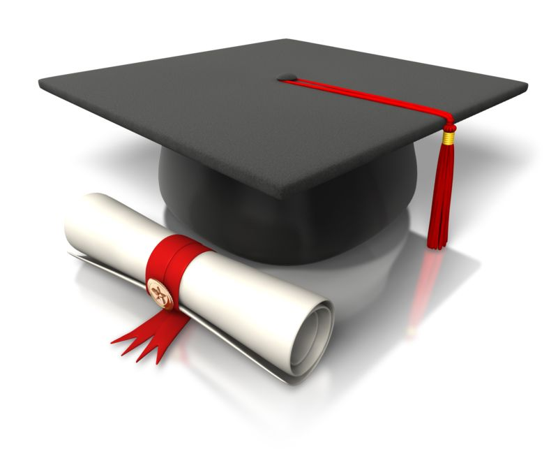 Clipart - Diploma Hat Graduation