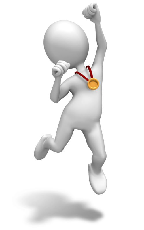 Clipart - Winner Gold Medal