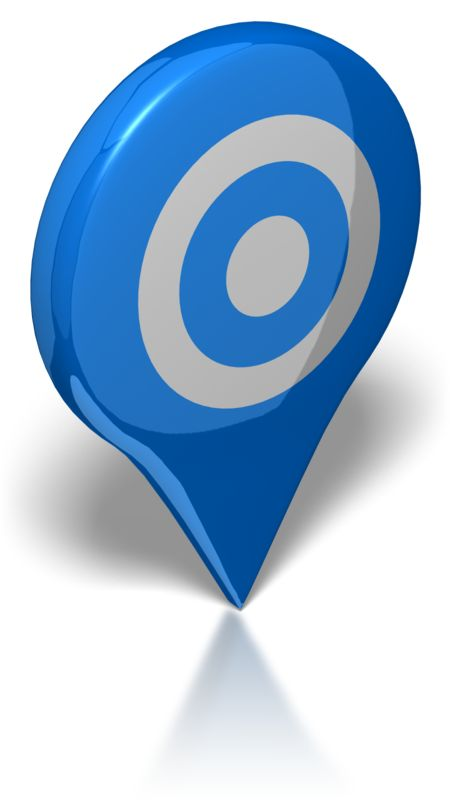 Clipart - Map Target
