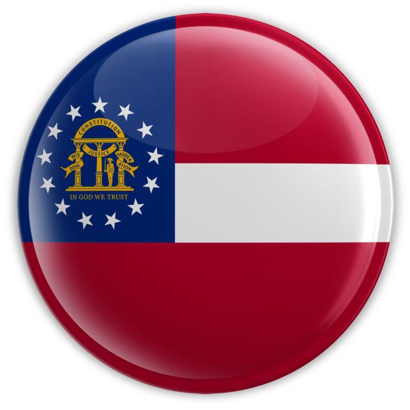 Clipart - Badge of Georgia