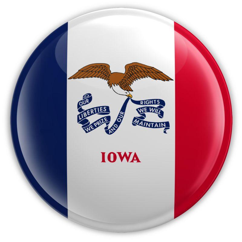 Clipart - Badge of Iowa