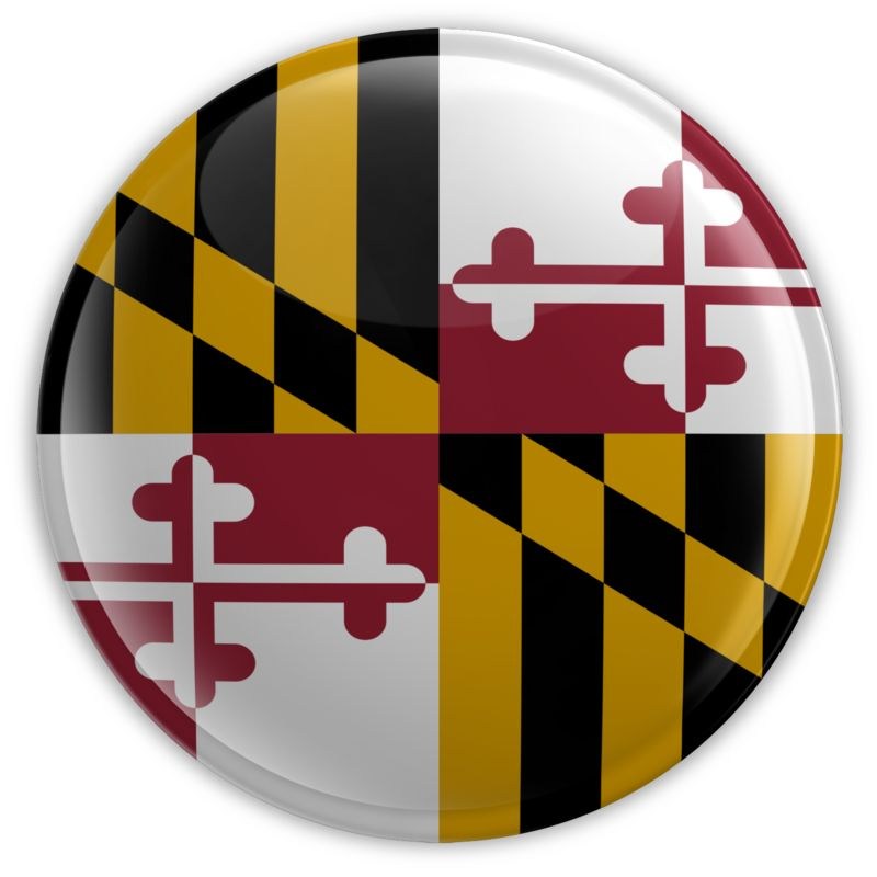 Clipart - Badge of Maryland