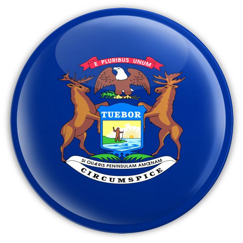 Clipart - Badge of Michigan