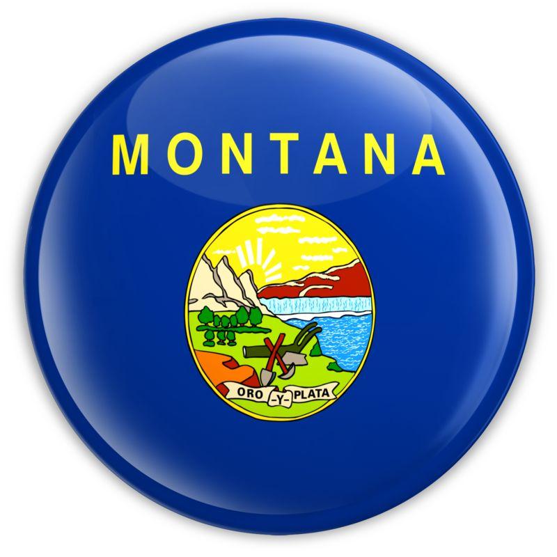Clipart - Badge of Montana