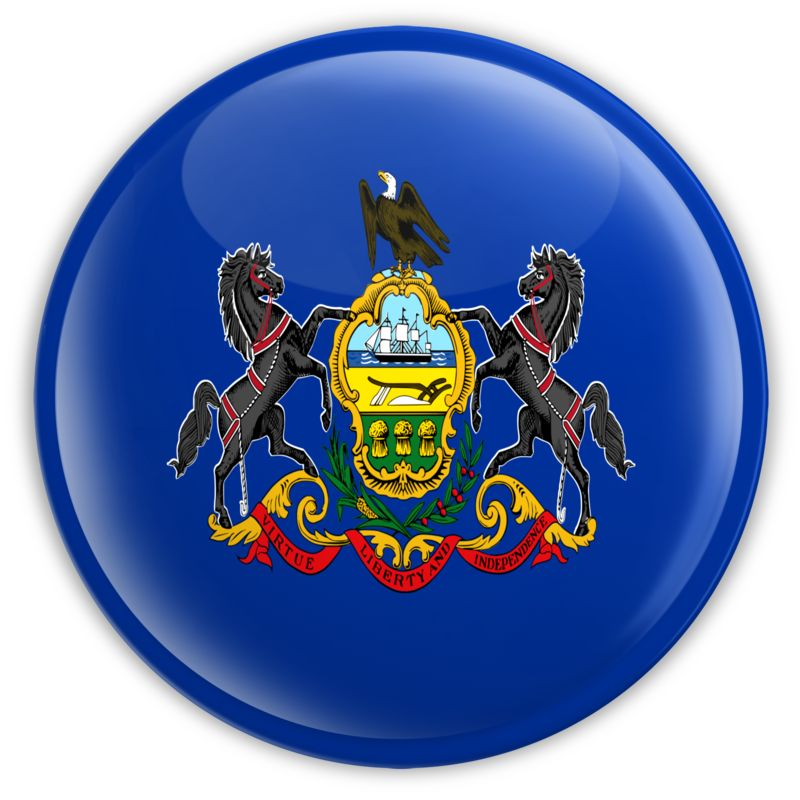 Clipart - Badge of Pennsylvania