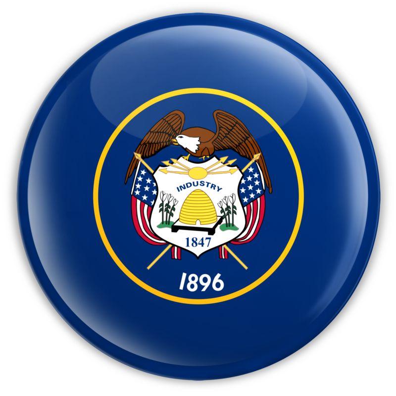 Clipart - Badge of Utah