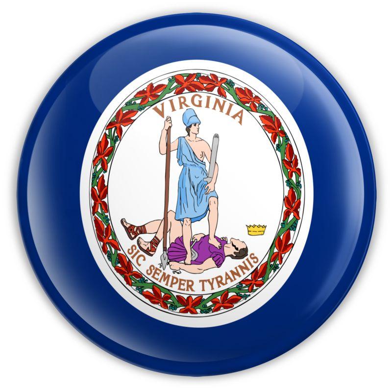 Clipart - Badge of Virginia