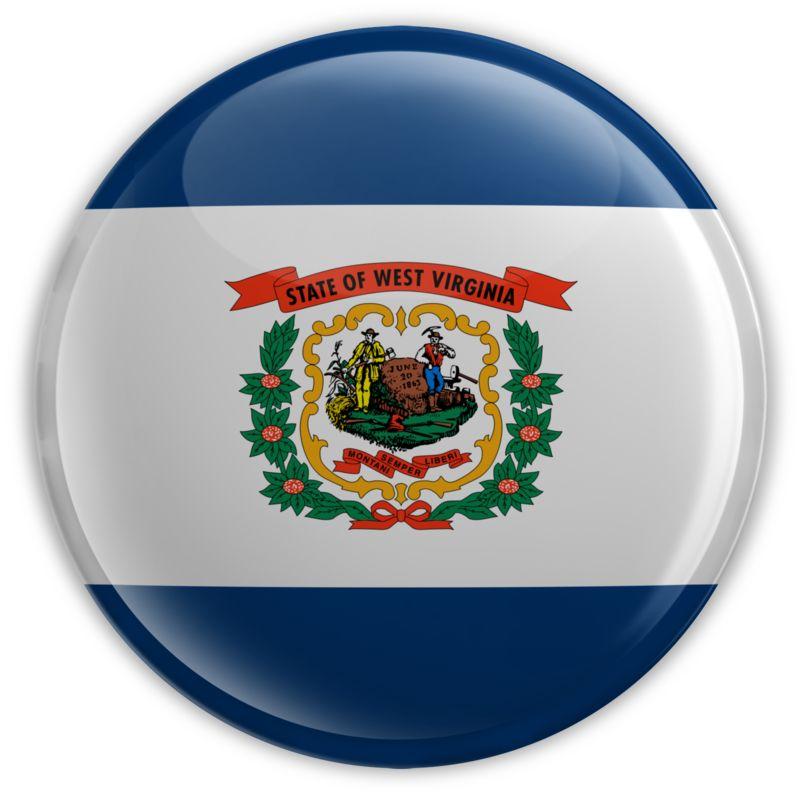Clipart - Badge of West Virginia