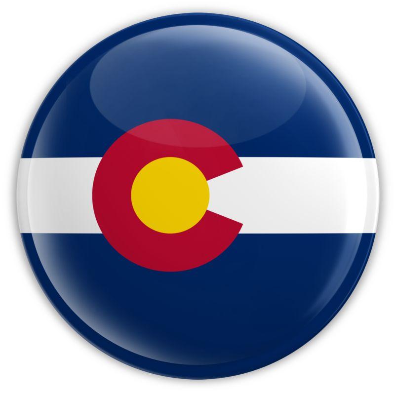 Clipart - Badge of Colorado
