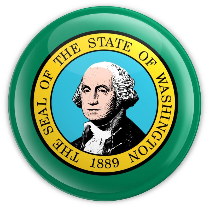 Clipart - Badge of Washington