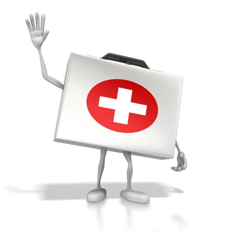 Clipart - Happy Medical Kit
