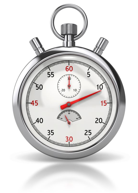 Clipart - Stop Watch Front