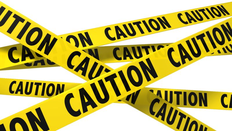 Clipart - A Wall Of Caution Tape