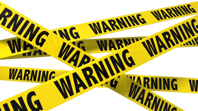 Clipart - A Wall Of Warning Tape