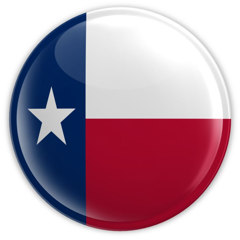Clipart - Badge of Texas