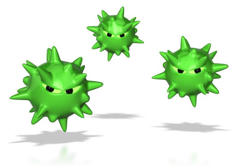 Clipart - Virus Spores