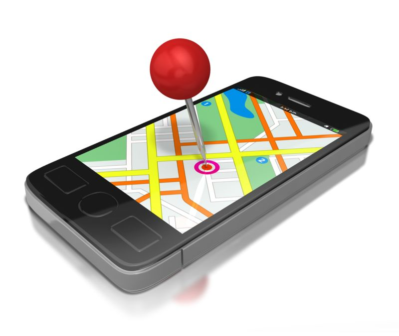 Clipart - Gps Smart Phone