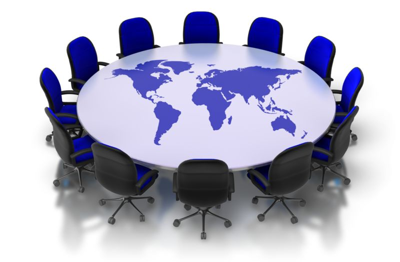 Clipart - Table Of The World