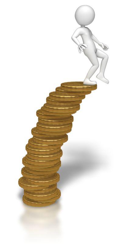 Clipart - Edge Of Your Finances