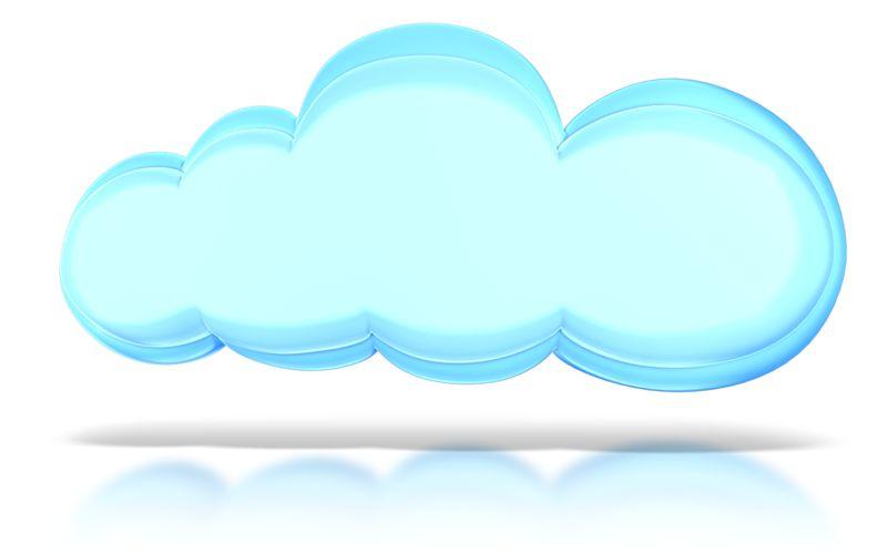 Clipart - The Cloud