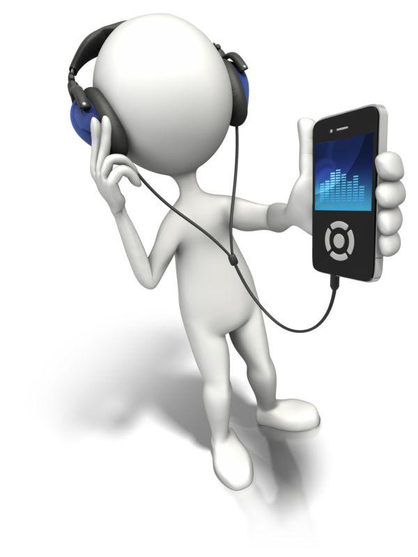 Clipart - Enjoy The Music
