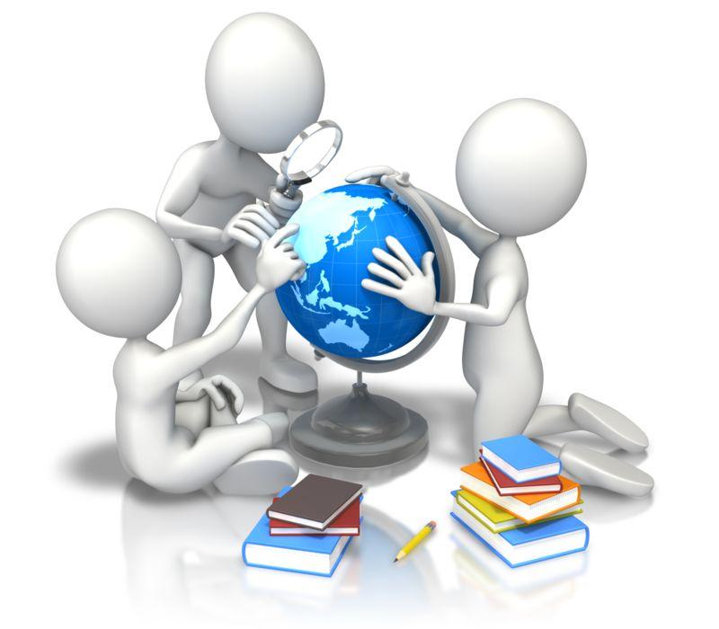 Clipart - Children School Study Earth