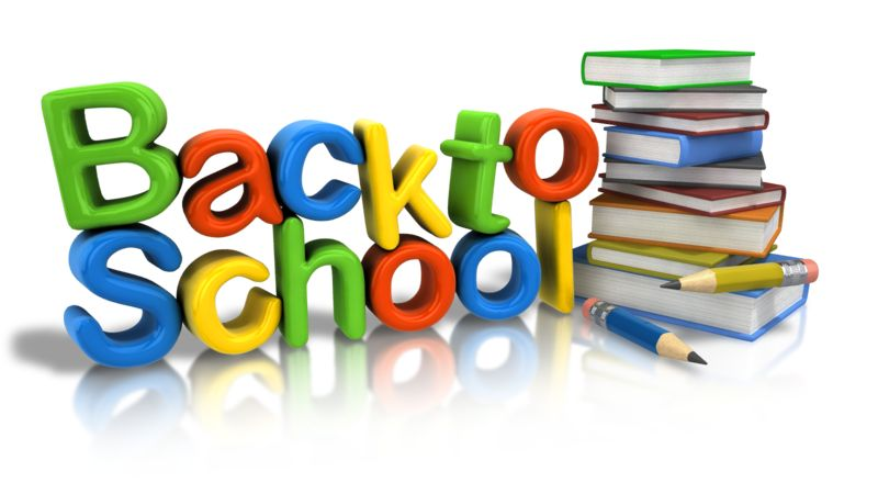 Clipart - Back To School Supplies