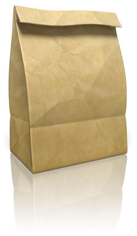 Clipart - Paper Bag