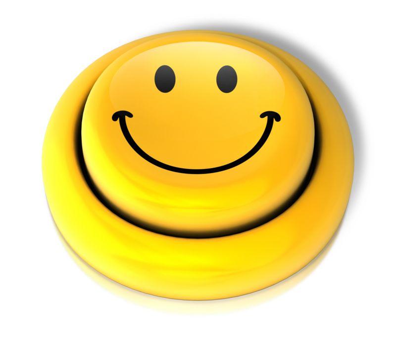 Clipart - Smiley Face Smile Button