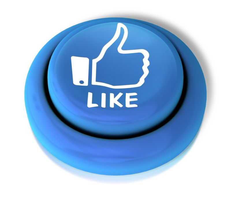 Clipart - Like Thumbs Up Button