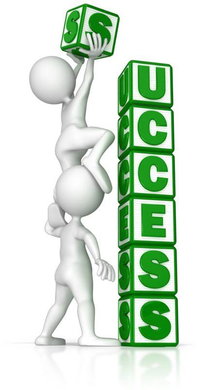 Clipart - Building Success