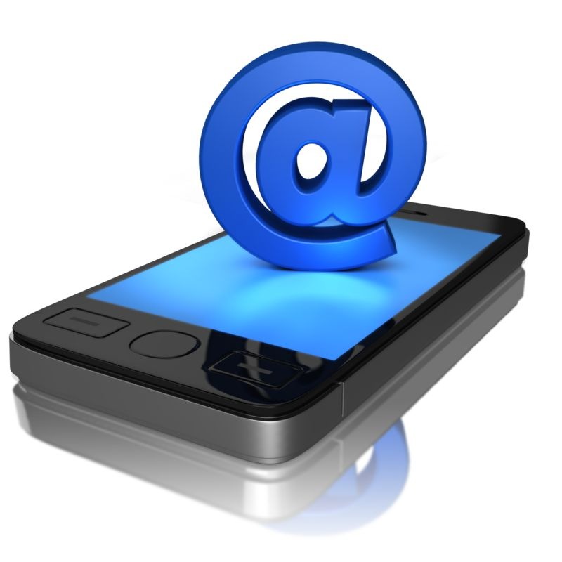 Clipart - Mobile Email