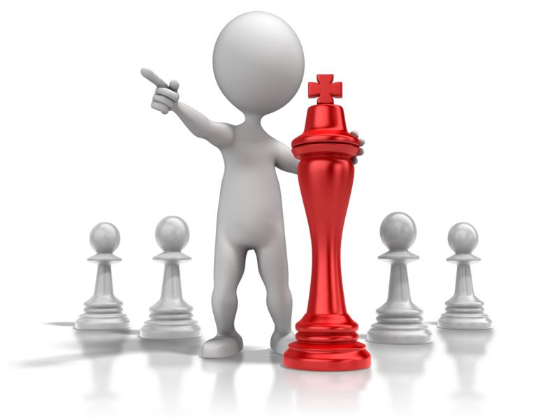 Clipart - Chess Strategy