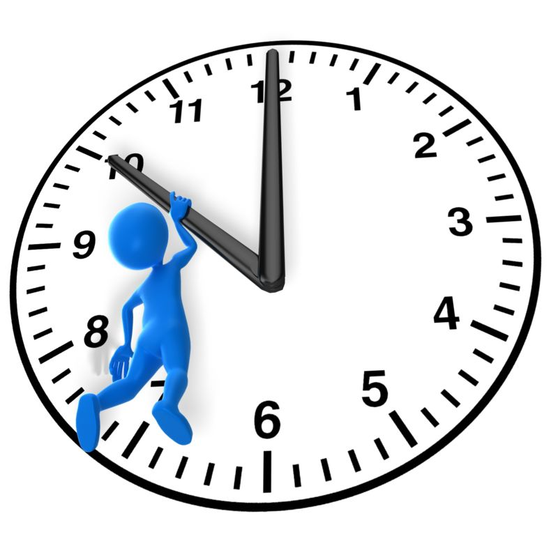 Clipart - Hanging On To Time