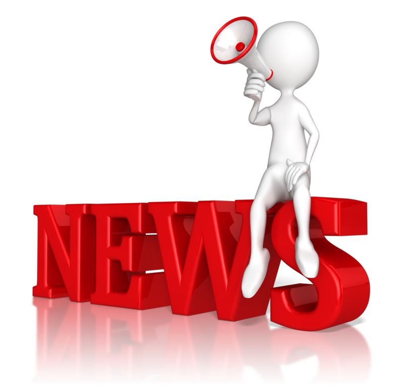Clipart - Announce The News