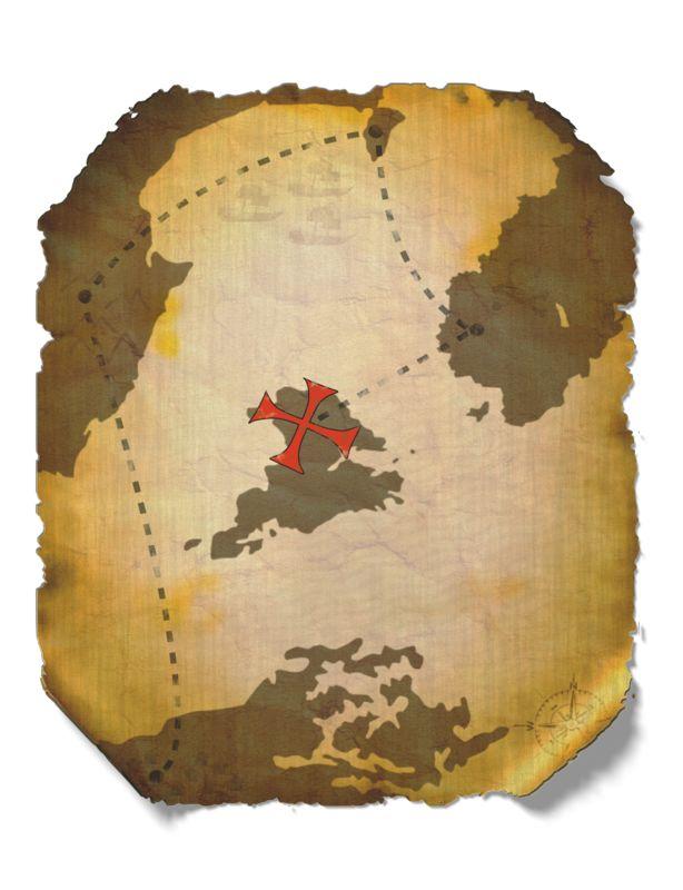 Clipart - Treasure Map