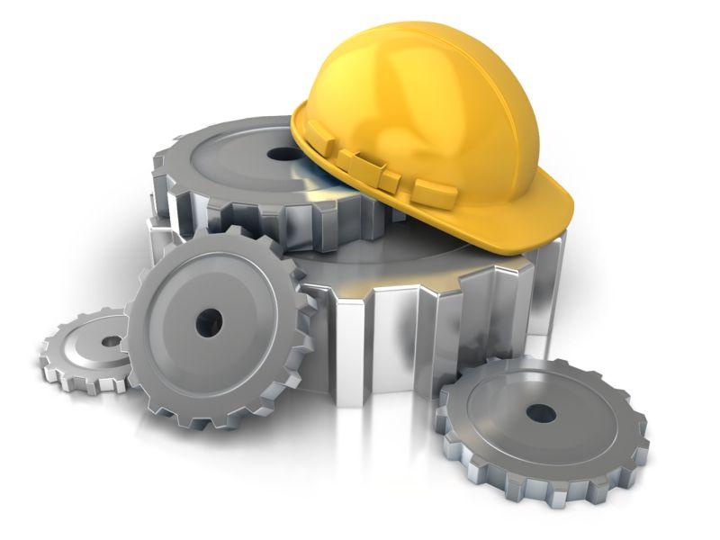 Clipart - Construction Helmet Gears