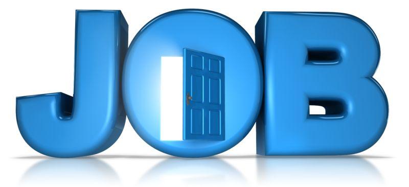 Clipart - Job Opportunity Door Open