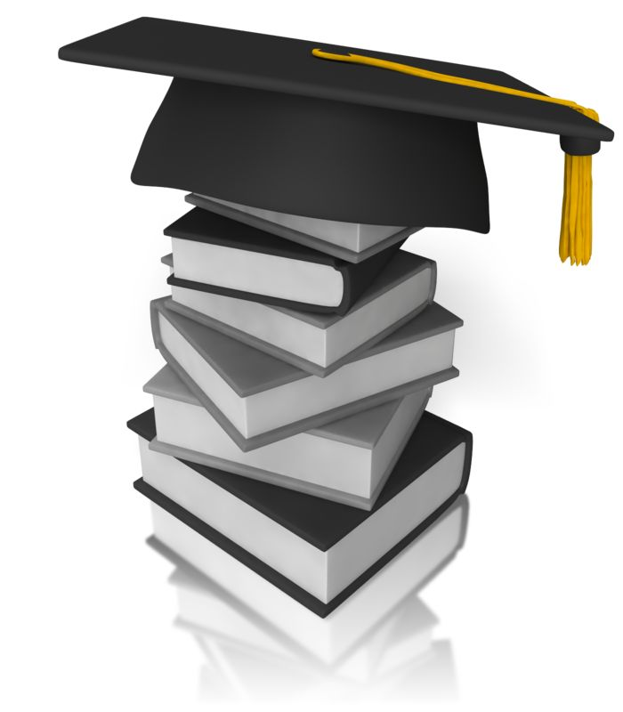 Clipart - Graduation Books