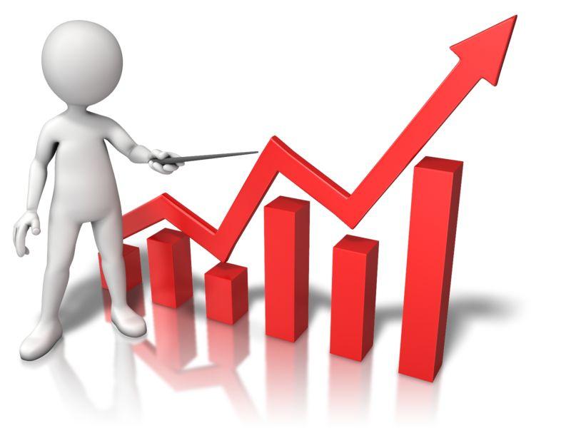 Clipart - Three Dimensional Graph Growth