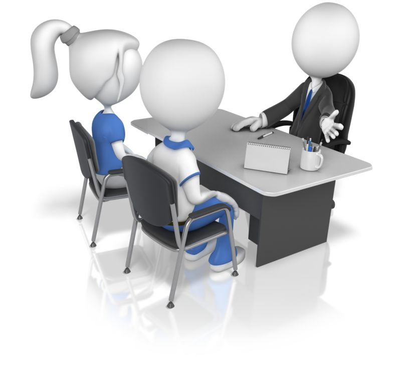 Clipart - Business Figure With Clients