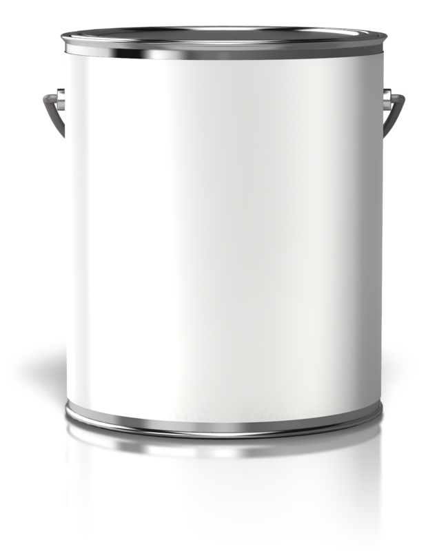 Clipart - Paint Can Blank Label
