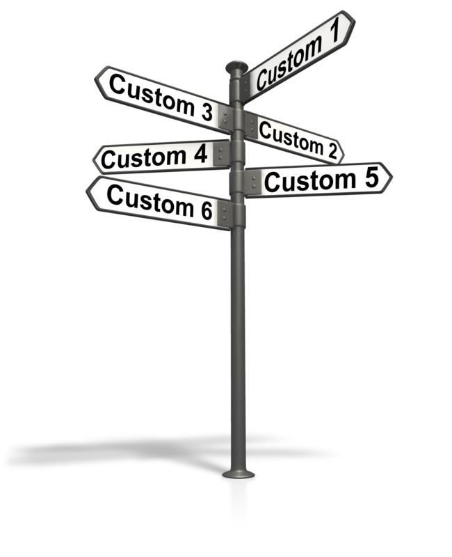 This Presentation Clipart shows a preview of Street Sign Post Text