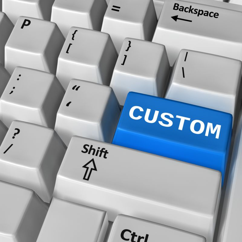 This Presentation Clipart shows a preview of Keyboard Custom Enter
