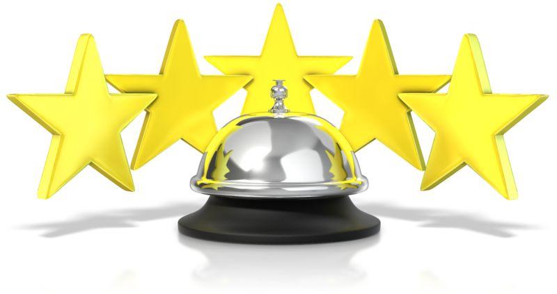Clipart - Five Star Service Bell