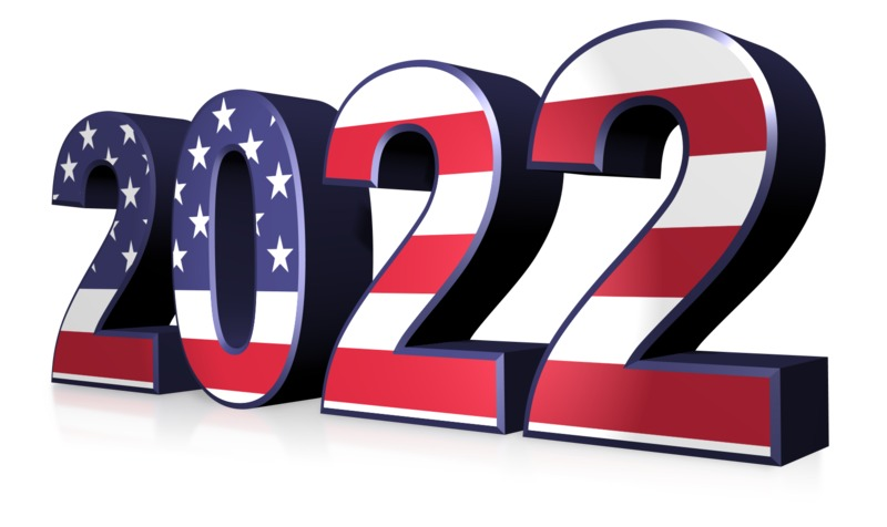 This Presentation Clipart shows a preview of American Flag Custom Year