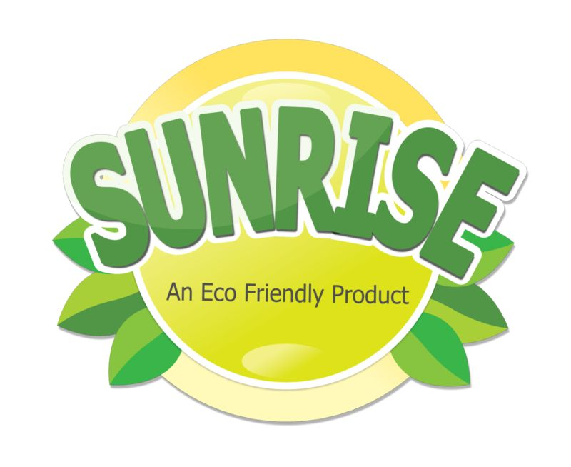 This Presentation Clipart shows a preview of Eco Sun Label