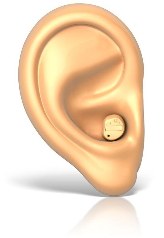 Clipart - Hearing Aid in Ear
