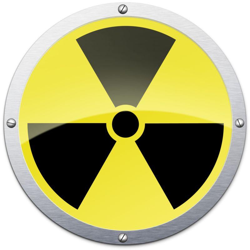 Clipart - Radioactive Metal Symbol