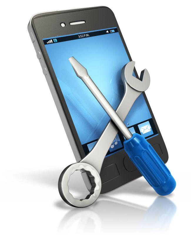 Clipart - Smart Phone Tech Fix